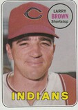 LARRY BROWN 1969 TOPPS CARD #503
