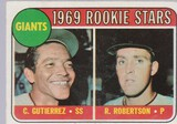 1969 TOPPS CARD #16 GIANTS ROOKIE STARS