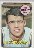 BOB BAILEY 1969 TOPPS CARD #399