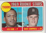 1969 TOPPS CARD #324 TIGERS ROOKIE STARS