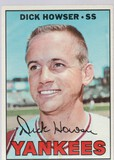 DICK HOWSER 1967 TOPPS CARD #411
