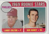 1969 TOPPS CARD #454 PHILLIES ROOKIE STARS