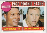1969 TOPPS CARD #567 PIRATES ROOKIE STARS