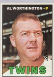 AL WORTHINGTON 1967 TOPPS CARD #399