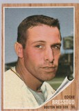 EDDIE BRESSOUD 1962 TOPPS CARD #504