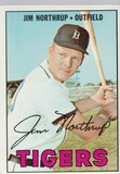 JIM NORTHRUP 1967 TOPPS CARD #408