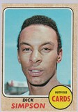 DICK SIMPSON 1968 TOPPS CARD #459