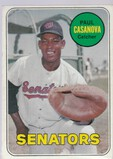 PAUL CASANOVA 1969 TOPPS CARD #486