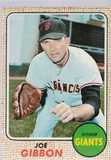 JOE GIBBON 1968 TOPPS CARD #32