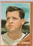LARRY OSBORNE 1962 TOPPS CARD #583 / HIGH NUMBER