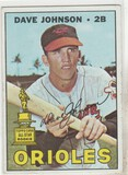DAVE JOHNSON 1967 TOPPS CARD #363