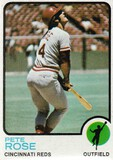 PETE ROSE 1973 TOPPS CARD #130