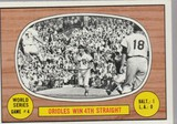 1967 TOPPS CARD #154 WORLD SERIES GAME #4