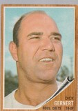 DICK GERNERT 1962 TOPPS CARD #536 / HIGH NUMBER