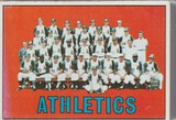 KANSAS CITY ATHLETICS 1967 TOPPS TEAM CARD #262