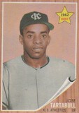 JOSE TARTABULL 1962 TOPPS ROOKIE CARD #451