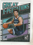 BRANDON CLARKE 2019/20 DONRUSS GREAT X-PECTATIONS INSERT CARD #2