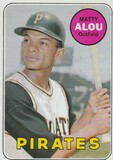 MATTY ALOU 1969 TOPPS CARD #490