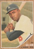 JIM GILLIAM 1962 TOPPS CARD #486