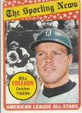 BILL FREEHAN 1969 TOPPS CARD #431