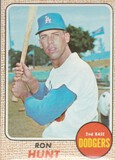 RON HUNT 1968 TOPPS CARD #15