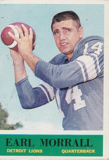 EARL MORRALL 1964 PHILADELPHIA CARD #65