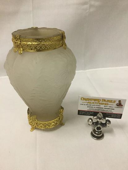 Antique Phoenix Glass Vase Wit Auctions Online Proxibid