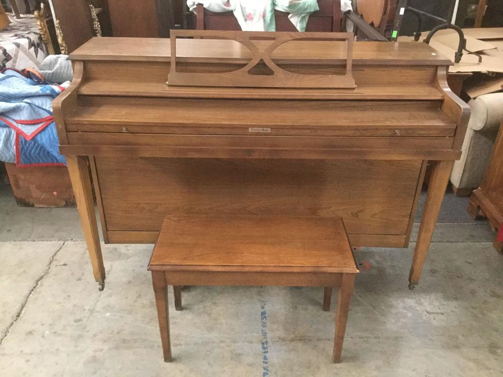 Vintage Aeolian Company Chaney And Sons Piano Serial No 185088 Made In Usa 60 S Upright Piano Art Antiques Collectibles Collectibles Vintage Retro Collectibles Auctions Online Proxibid