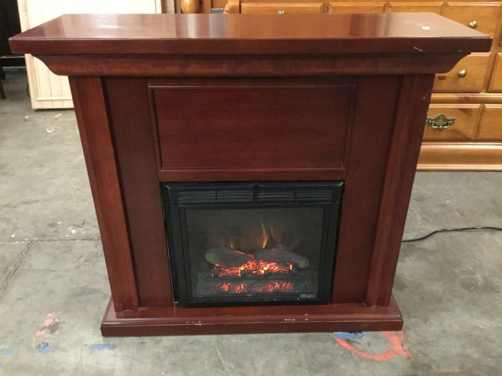 Lot Twin Star International Charmglow Electric Fireplace Model