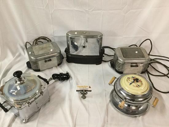 Lot of 5 antique kitchen appliances - 2x Calvin\'s Appliance ...
