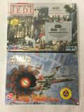 2 SEALED Star Wars model kits. MPC Return of the Jedi AT-ST, AMT X-Wing Fighter