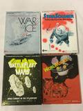Lot of 4 Strategy Games made by SPI. War in the Ice, Star Soldier, BattleFleet Mars, WorldKiller.