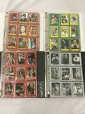 4 complete Card sets, in binders. 1983 Topps Return of the Jedi set, 1981 Topps Raiders of the Lost
