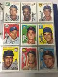 Topps 1994 reprint 1954 Set, in binder. 188 out of total 250 cards in Set. See pics