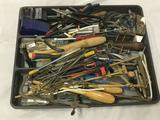 Lot of Dremel accessories: sanders, drill bits, brushes, etc. see pics
