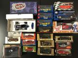 19x diecast cars in original boxes; Tomica Dandy, Action Racing Collectibles Xtreme Series Sarah