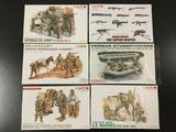 6x Dragon/DML plastic soldier model kits , 1/35 scale; German 6th Army (Stalingrad 1942-43), Modern