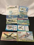 10x military aircraft plastic model kits, 1/72 scale; SEALED Aero 10 Suchoj Su-25 K, SEALED Kit Pro