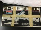 Monogram B-52 Stratofortress plastic model kit, 1/72 scale.
