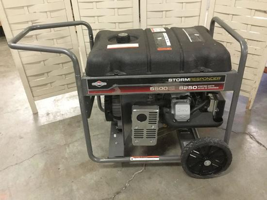 Briggs and Stratton Storm Responder 5500 watt gas generator, with original box