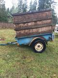 1958 Sturdy Utility trailer clear title