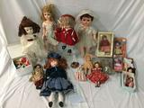 Large collection of vintage & modern dolls incl. Vogue, composite baby doll, Simon Halbig etc