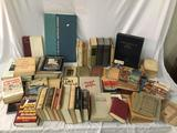 Collection of antique & modern German lit books + some English - see desc & pics