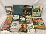 Lot of 13 books; History of Automobile, WWII, Steig Larsson, My Secret Life, Dan Brown and more