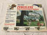 Pro Fence Fenceless Dog Containment System in box