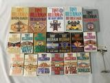 18 book collection Tony Hillerman - paperback / hardcover Sacred Clowns, Skinwalkers and more