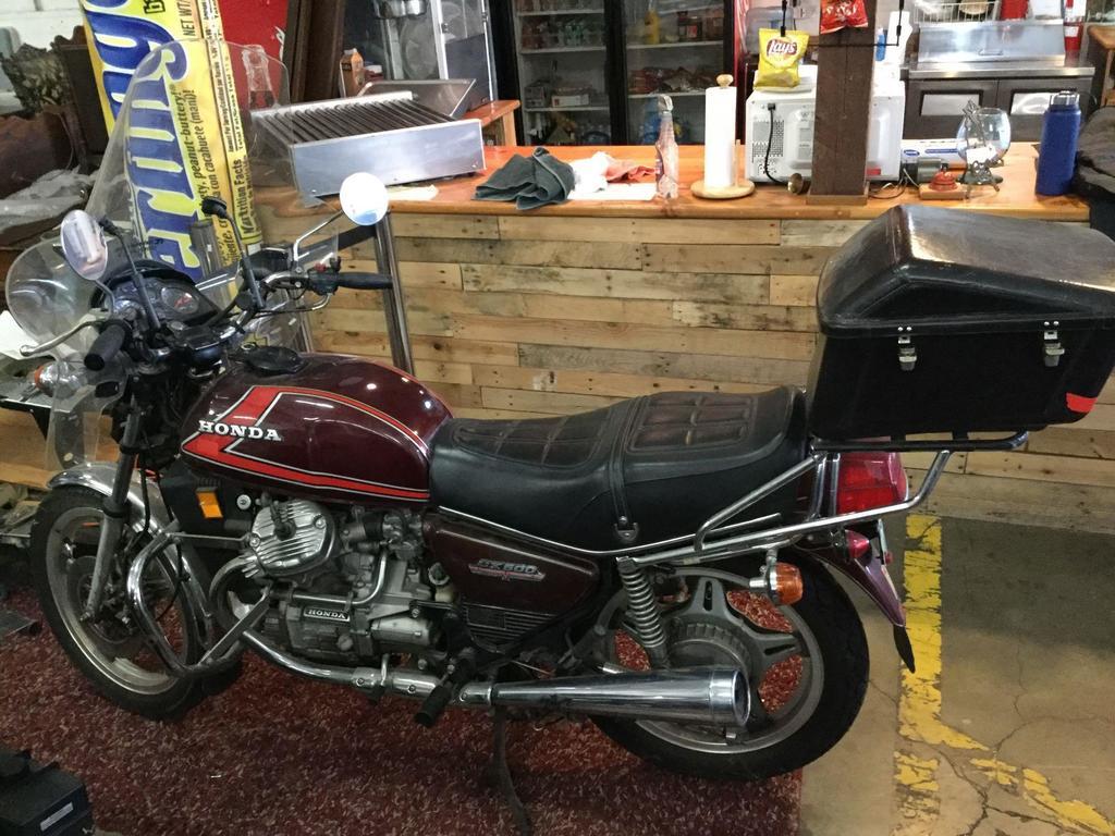 Lot: 1978 Honda CX500 Twin motorcycle