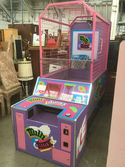 Mini Dunxx hoop shoot coin op Arcade Game/ ticket game by Innovative Concepts in Entertainment INC