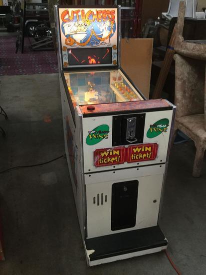 Cut The Cheese Sega Arcade Game  Quarters/Tokens accepted