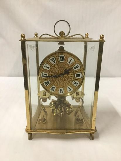 Vintage Kundo Shelf Anniversary Clock - made in Germany